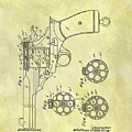 1901 Automatic Revolver Patent by Dan Sproul