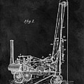 1902 Oil Well Patent by Dan Sproul