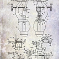1902 Watchmakers Lathes Patent by Jon Neidert