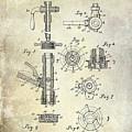 1903 Beer Tap Patent by Jon Neidert
