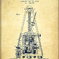 1903 Electric Metronome Patent - Vintage by Aged Pixel