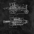 1903 Tractor Blueprint Patent by Dan Sproul