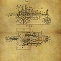 1903 Tractor Patent by Dan Sproul