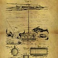 1904 Fishing Decoy Patent by Dan Sproul