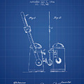 1904 Metronome Patent - Blueprint by Aged Pixel