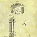 1905 Drum Patent by Dan Sproul
