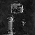 1905 Drum Patent Illustration by Dan Sproul