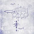 1906 Oyster Shucking Knife Patent Blueprint by Jon Neidert