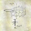 1906 Oyster Shucking Knife Patent by Jon Neidert