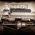 1906 White Model F Roi Des Belges Touring Rear Lamp -0058s by Jill Reger