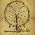 1907 Ferris Wheel Patent by Dan Sproul