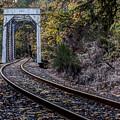 1907 Rail Road Bridge  by HW Kateley