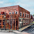 1907 Restaurant And Bar - Ellijay, Ga - Historical Building by Jan Dappen