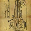 1907 Tractor Patent by Dan Sproul