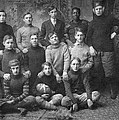 1908 Football Team by Underwood Archives