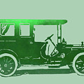 1909 Packard Limousine Green Pop by David King