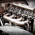 1910 Benz 22-80 Prinz Heinrich Renn Wagen Engine -1702ac by Jill Reger