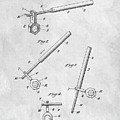 1913 Wrench Patent Illustration by Dan Sproul
