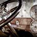 1914 Rolls-royce 40 50 Silver Ghost Landaulette Steering Wheel -0795ac by Jill Reger