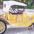 1915 Chevy by David Poyant Paintings