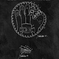 1916 Baseball Mitt Patent by Dan Sproul