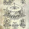 1916 Merry Go Round Patent by Jon Neidert