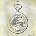 1916 Pocket Watch Patent by Jon Neidert