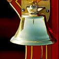 1919 Fire Truck Bell by Jill Reger