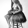1919 Hawaiian Girl by Paul Sandilands