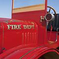 1919 Volunteer Fire Truck by Jill Reger