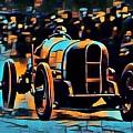 1920's Racing Car by Jean-Louis Glineur alias DeVerviers