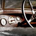 1921 Bentley Steering Wheel -0454ac by Jill Reger