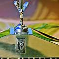 1921 Rolls-royce Silver Ghost Phaeton Hood Ornament by Jill Reger