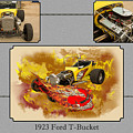 1923 Ford T-bucket Vintage Classic Car Photograph 5691.02 by M K Miller