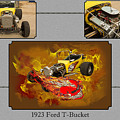 1923 Ford T-bucket Vintage Classic Car Photograph 5692.02 by M K Miller