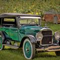 1923 Studebaker Big Six Touring Car by Susan Rissi Tregoning