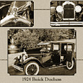 1924 Buick Duchess Antique Vintage Photograph Fine Art Prints 122 by M K Miller