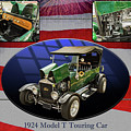 1924 Ford Model T Touring Hot Rod 5509.005 by M K Miller