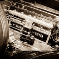 1924 Hispano-suiza H6b Dual  Cowl Sport Phaeton Engine Emblem -0258s by Jill Reger