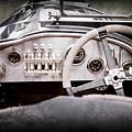 1925 Aston Martin 16 Valve Twin Cam Grand Prix Steering Wheel -0790ac by Jill Reger