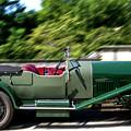 1926 Bentley Automobile by Bob Slitzan