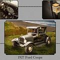 1927 Ford Coupe Car Antique Vintage Automobile Photograph Fine A by M K Miller