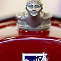 1928 Buick Custom Speedster Hood Ornament 2 by Jill Reger