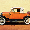 1928 Classic Ford Model A Roadster by Nick Gray