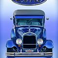 1928 Ford Tudor Sedan 'head On' by Dave Koontz