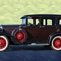 Historical Ford 4 Door Sedan by Nick Gray