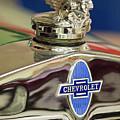 1929 Chevrolet Hood Ornament by Jill Reger