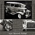1929 Chevrolet Vintage Classic Car Automobile Sepia 3557.01 by M K Miller