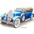 1929 Packard Dual Cowl Phaeton by Jack Pumphrey