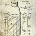 1930 Cocktail Shaker Patent by Jon Neidert